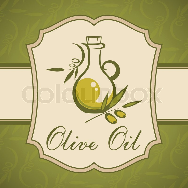 Vintage Olive Oil Labels