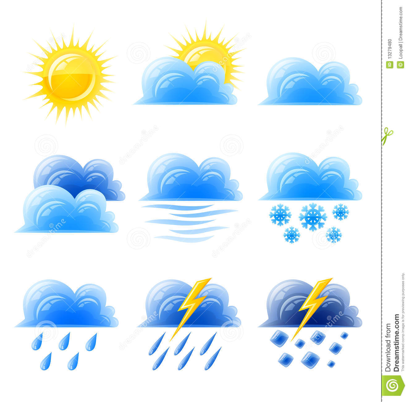 Weather Sun Clouds Icon