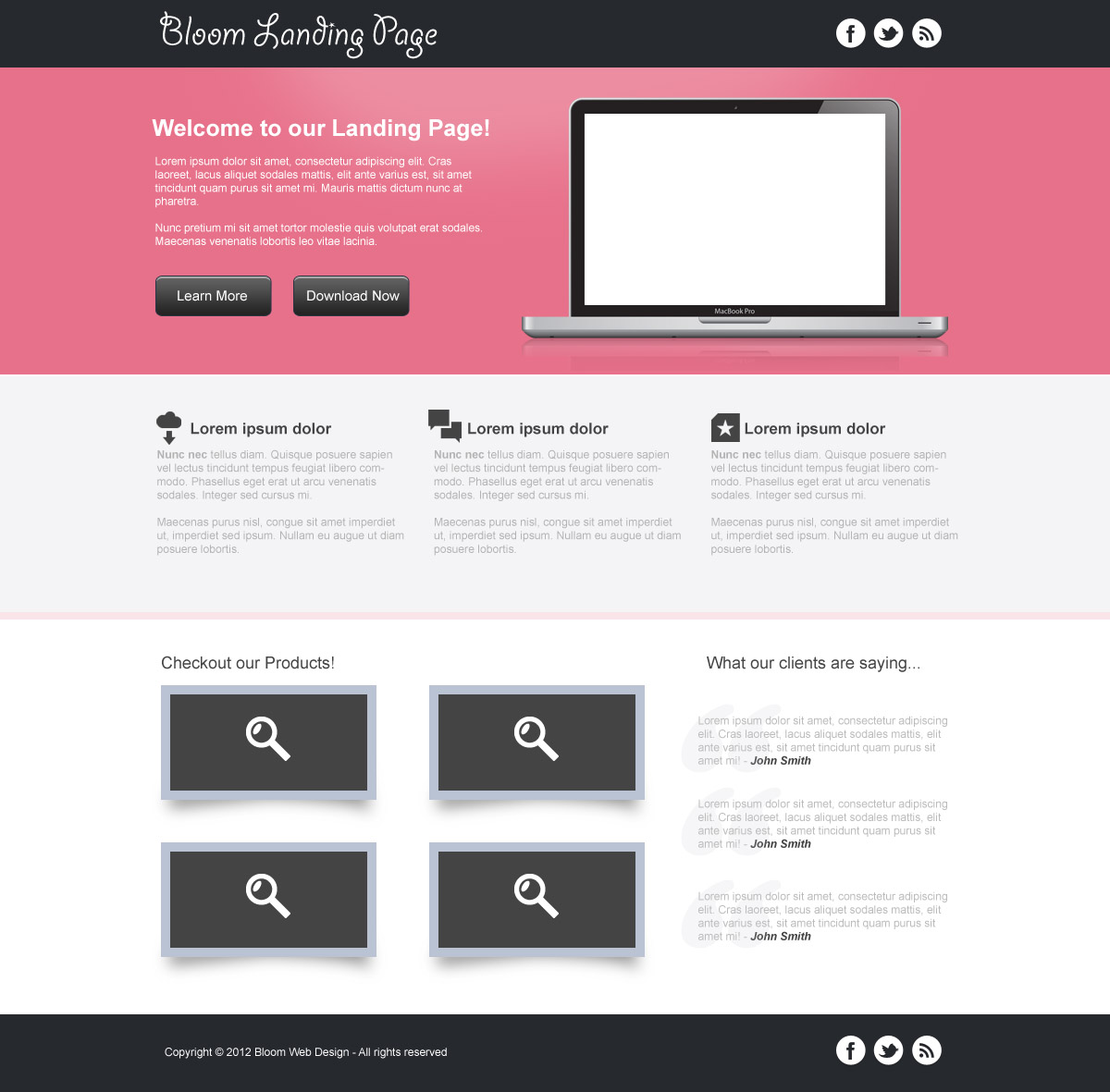 19 web page design in photoshop images photoshop tutorials web web page design templates baditri Gallery