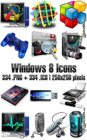 Windows 8 Icon Pack Download