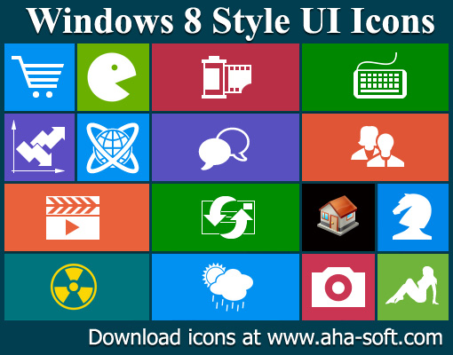 Windows 8 Icon Pack