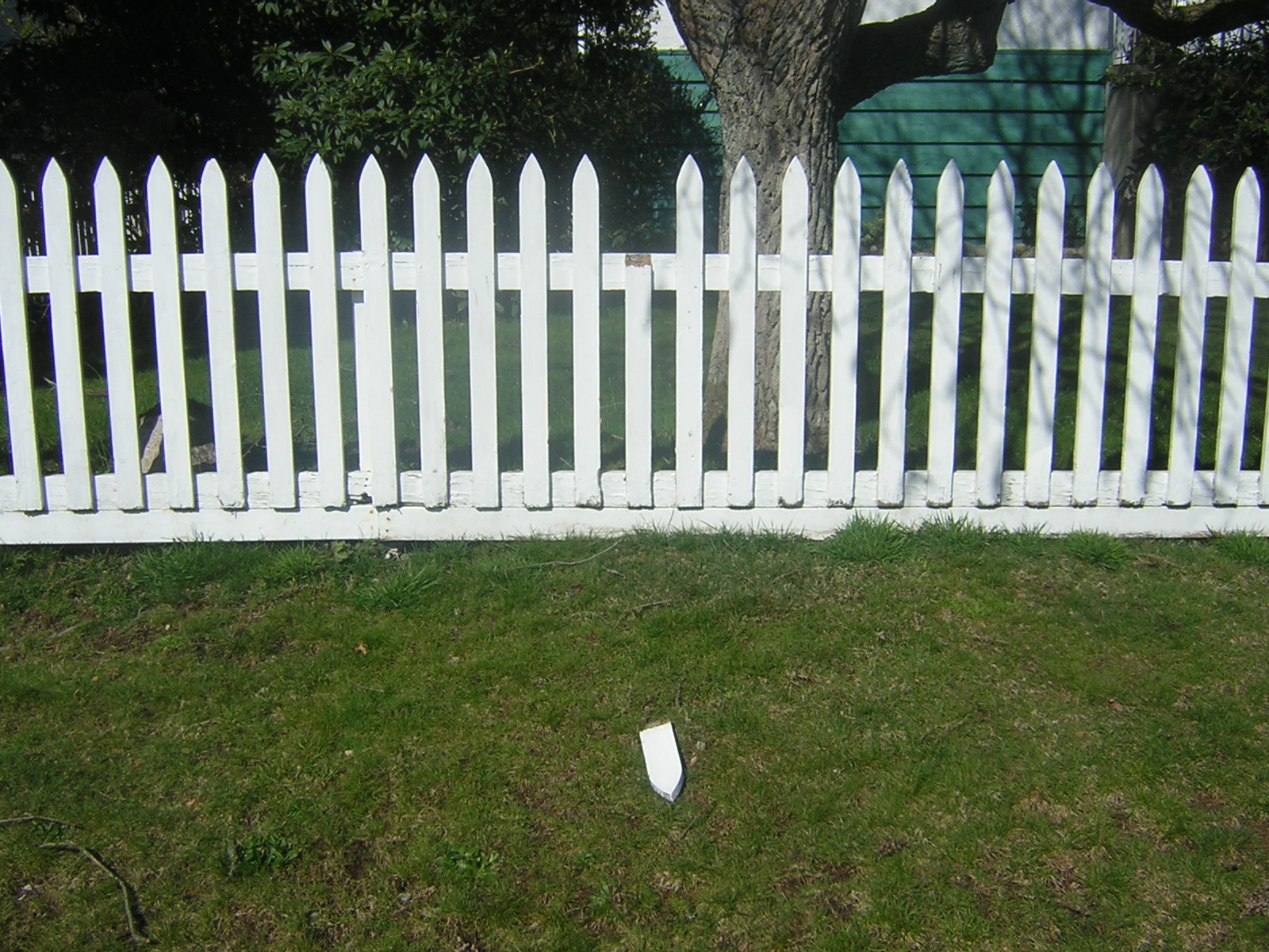 8 PSD White Picket Fences Images