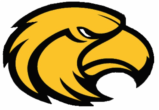 Yellow College Logo with Eagle