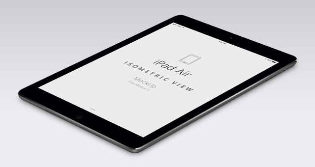 Air iPad 2 Template
