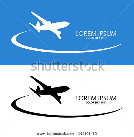Airplane Symbol Vector