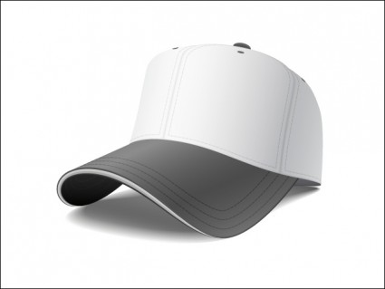 8 Baseball Cap Vector Template Images
