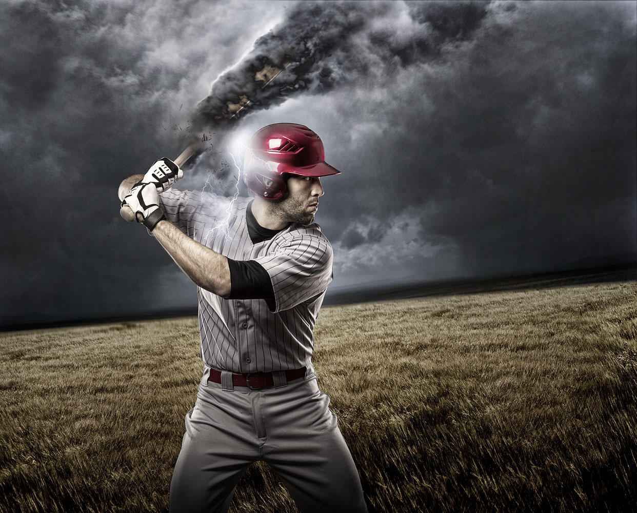 15 Baseball Photoshop Effects Images