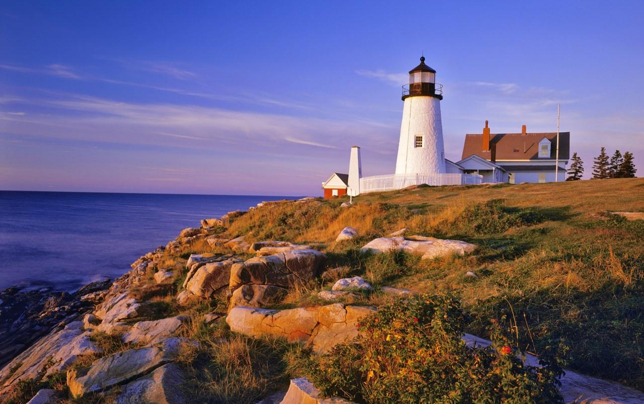 Beautiful Landscape United States Lighthouses