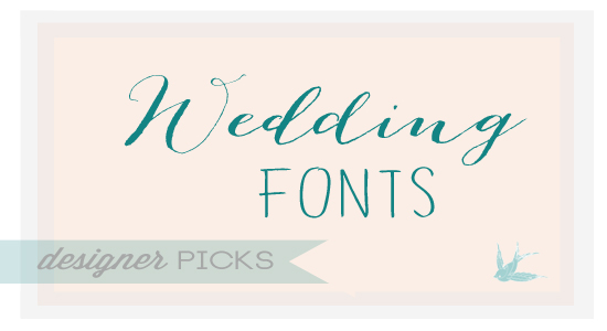 12 Wedding Fonts And Graphics Images - Free Wedding Script Fonts ...