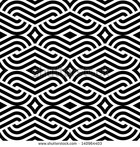 Black and White Abstract Patterns