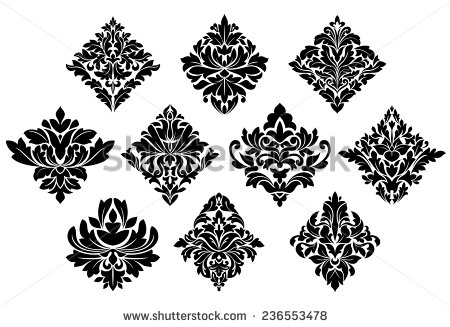 13 Bold Decorative Elements Vector Images