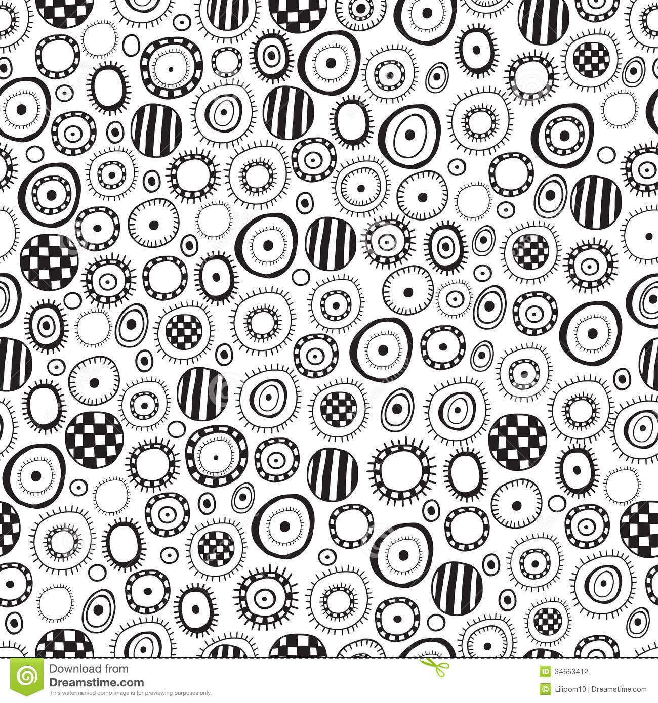 18 Black And White Abstract Designs Pattern Images Black And White