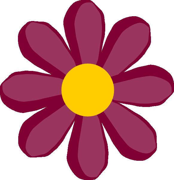 Black Flower Clip Art