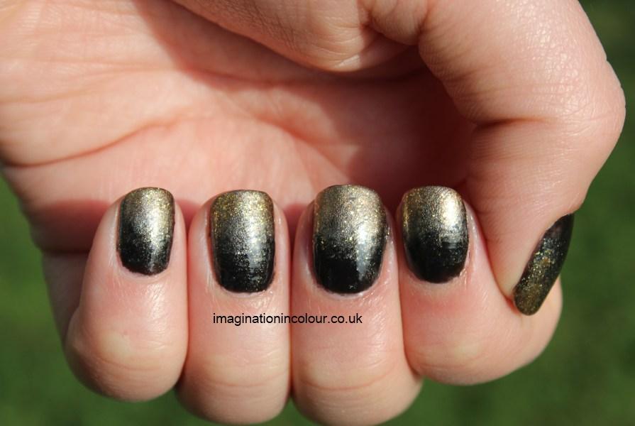 Nail Art Ideas Black And Gold Nailarts Ideas