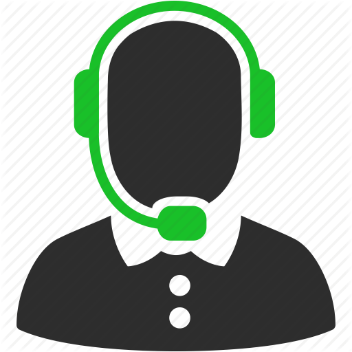 Call Center Phone Icons