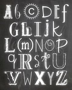 Make Chalk Letters In Photoshop