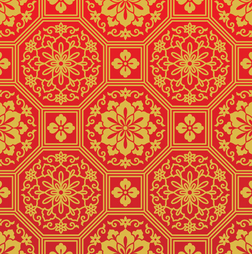 Chinese-Red-Pattern