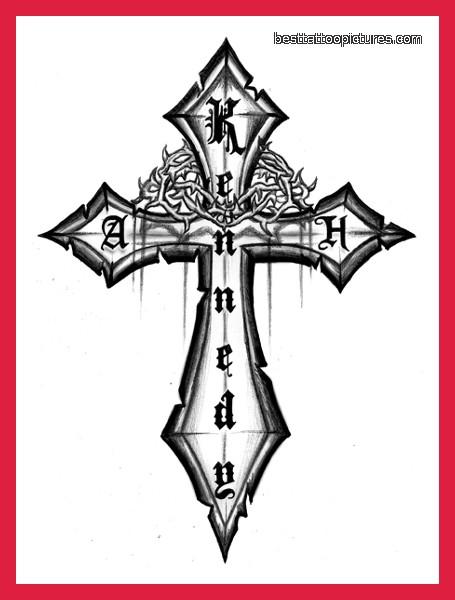 Christian Cross Tattoo Designs