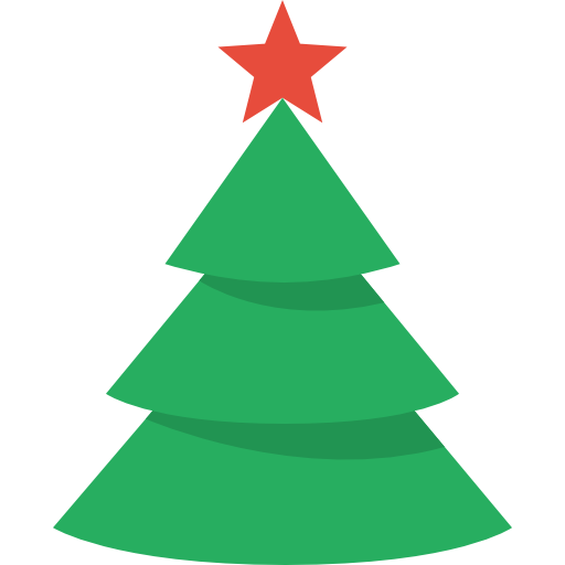 6 Christmas Tree Icon Images