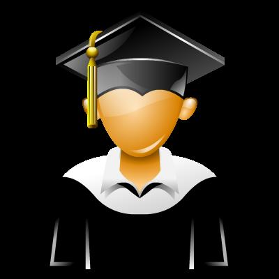 College Graduation Icons