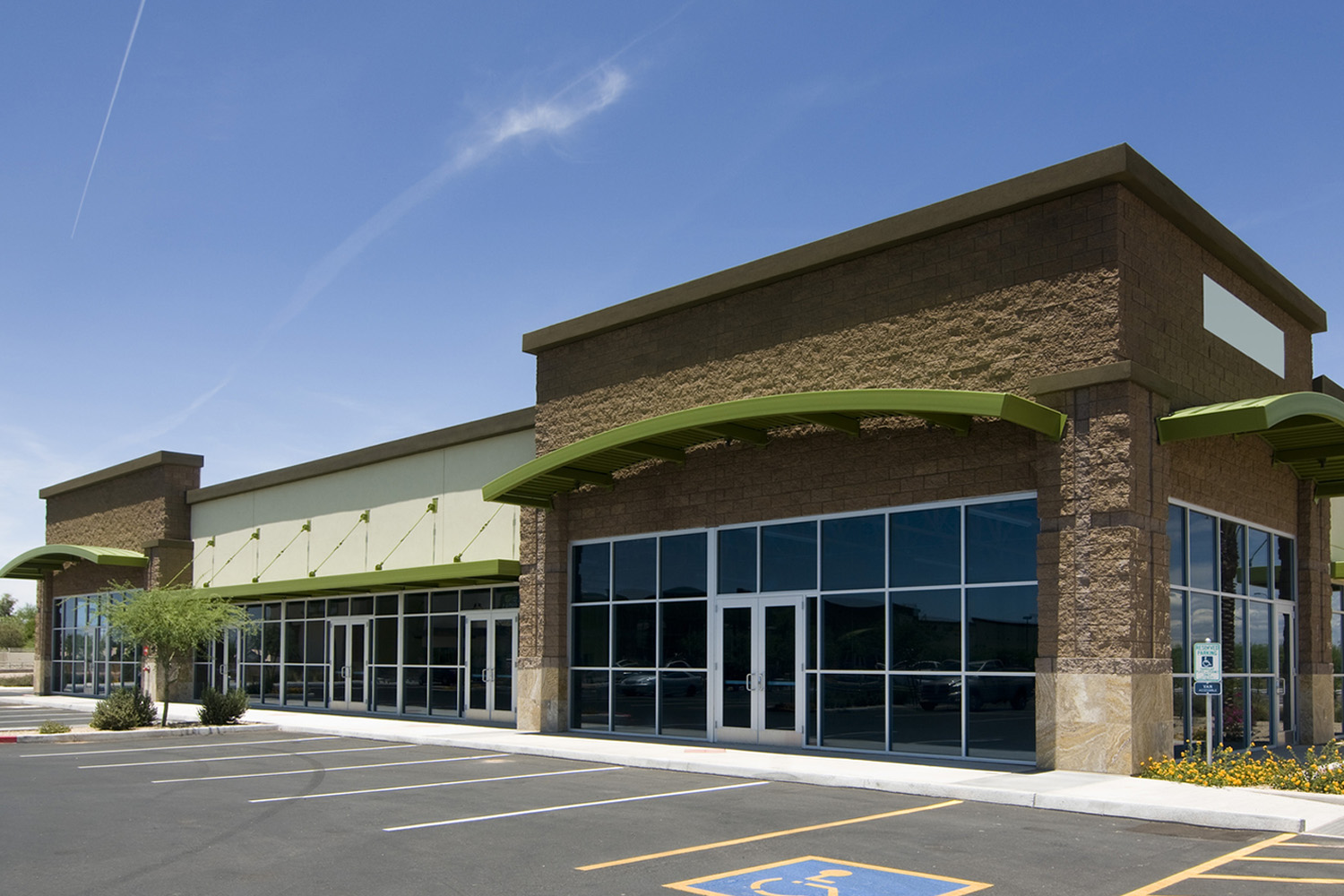 12 commercial retail buildings design images small for Small commercial building plans