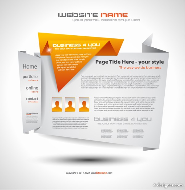 Creative Web Design Templates Free