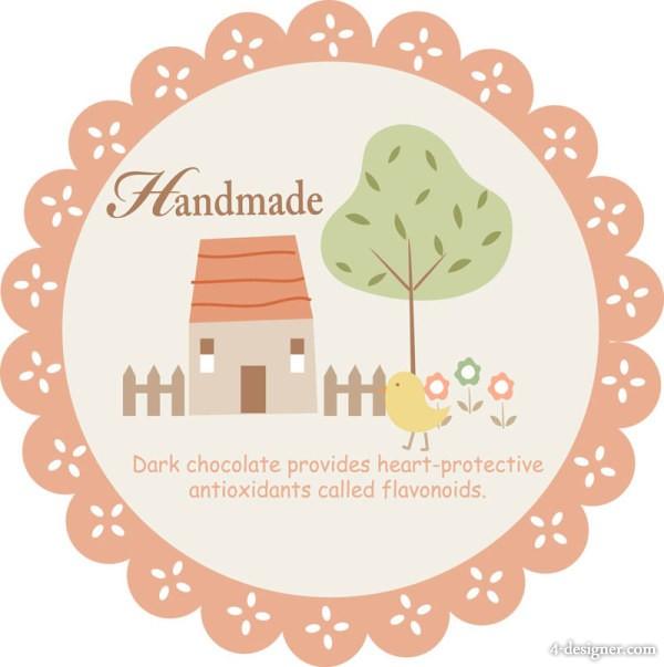 Cute Sticker Label