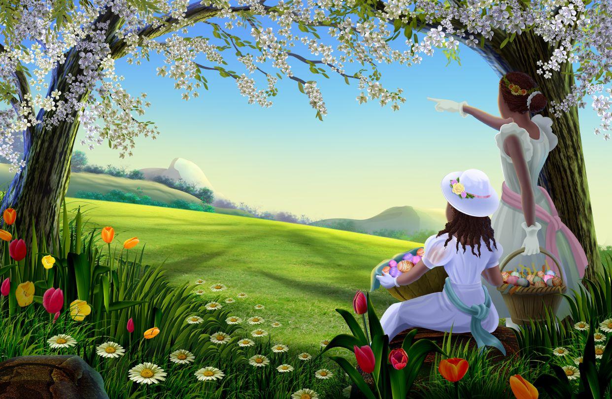 Easter Spring Desktop Wallpaper