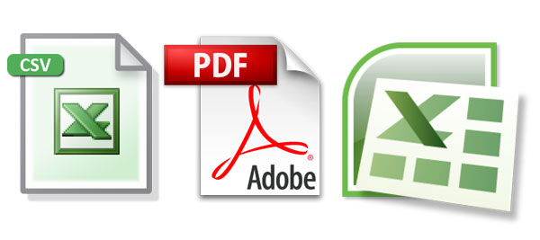 12 CSV Download Icon Small Images