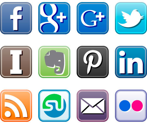 15 Social Media Icons For Email Images