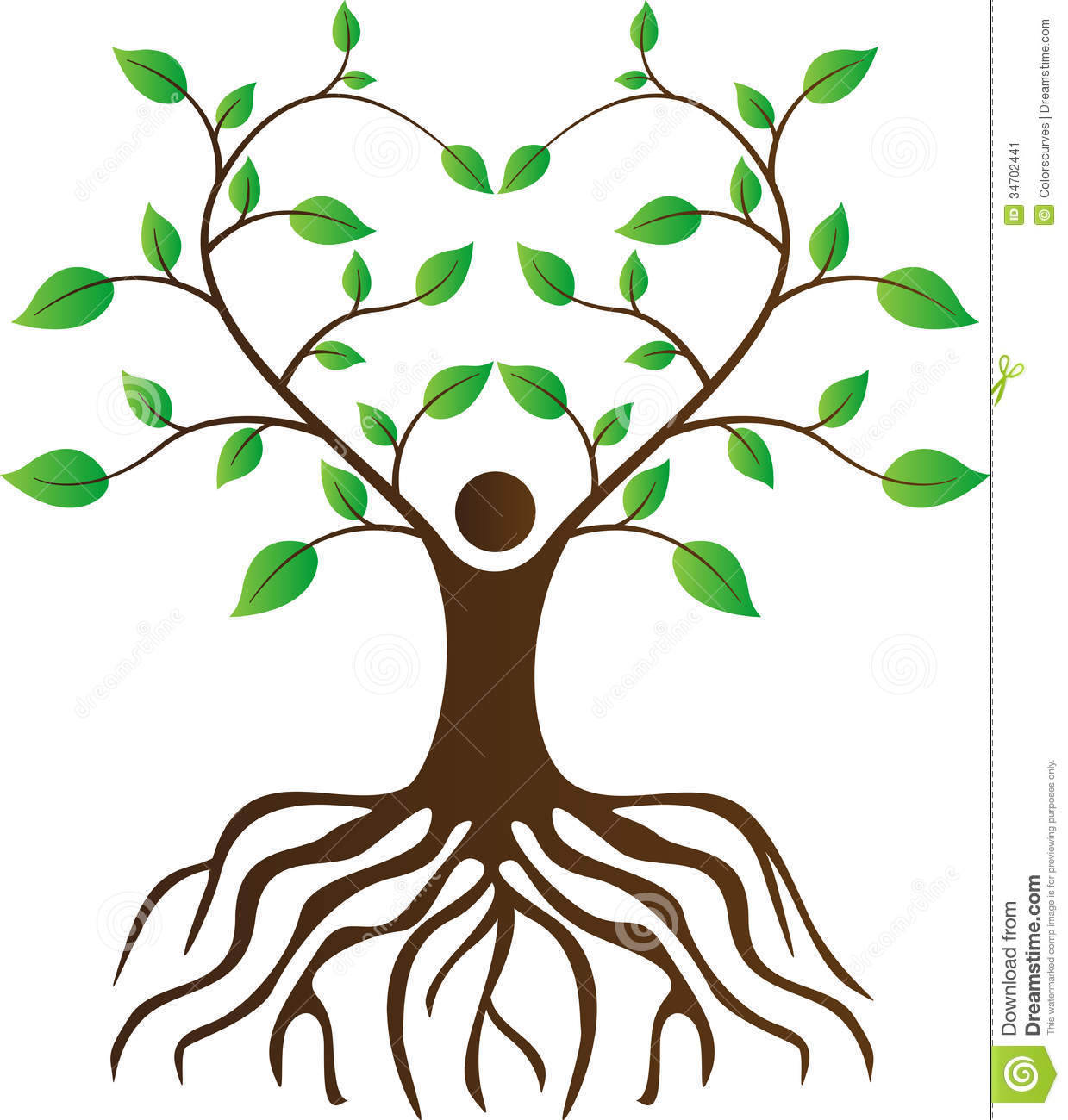 14 Roots Vector Person Images