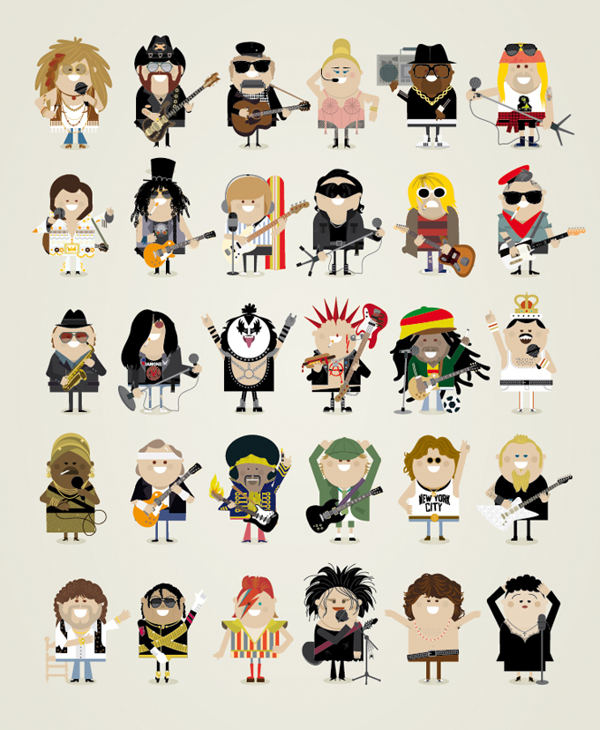 Famous Music Icons