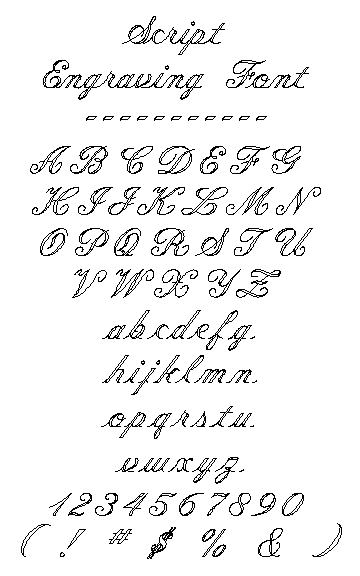 11 Cursive Number Fonts Images