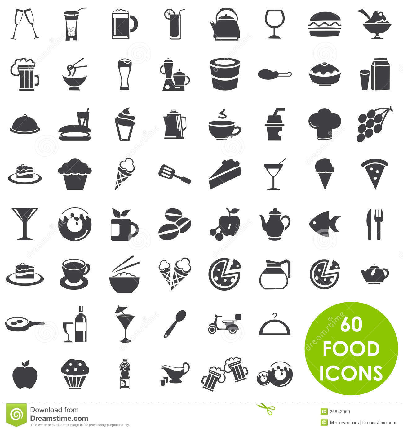 7 Food And Beverage Icon Images