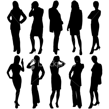 Free Business Woman Silhouette
