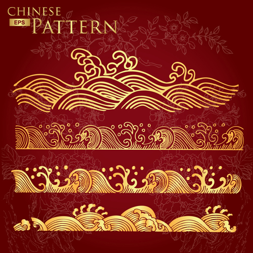 Free Chinese Border Pattern Vector