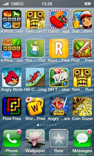 Free Games Apps for iPhone 5