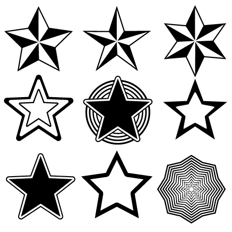 17 Free Downloads Vector Star Images