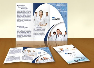 16 Free Photoshop Template Brochure Images