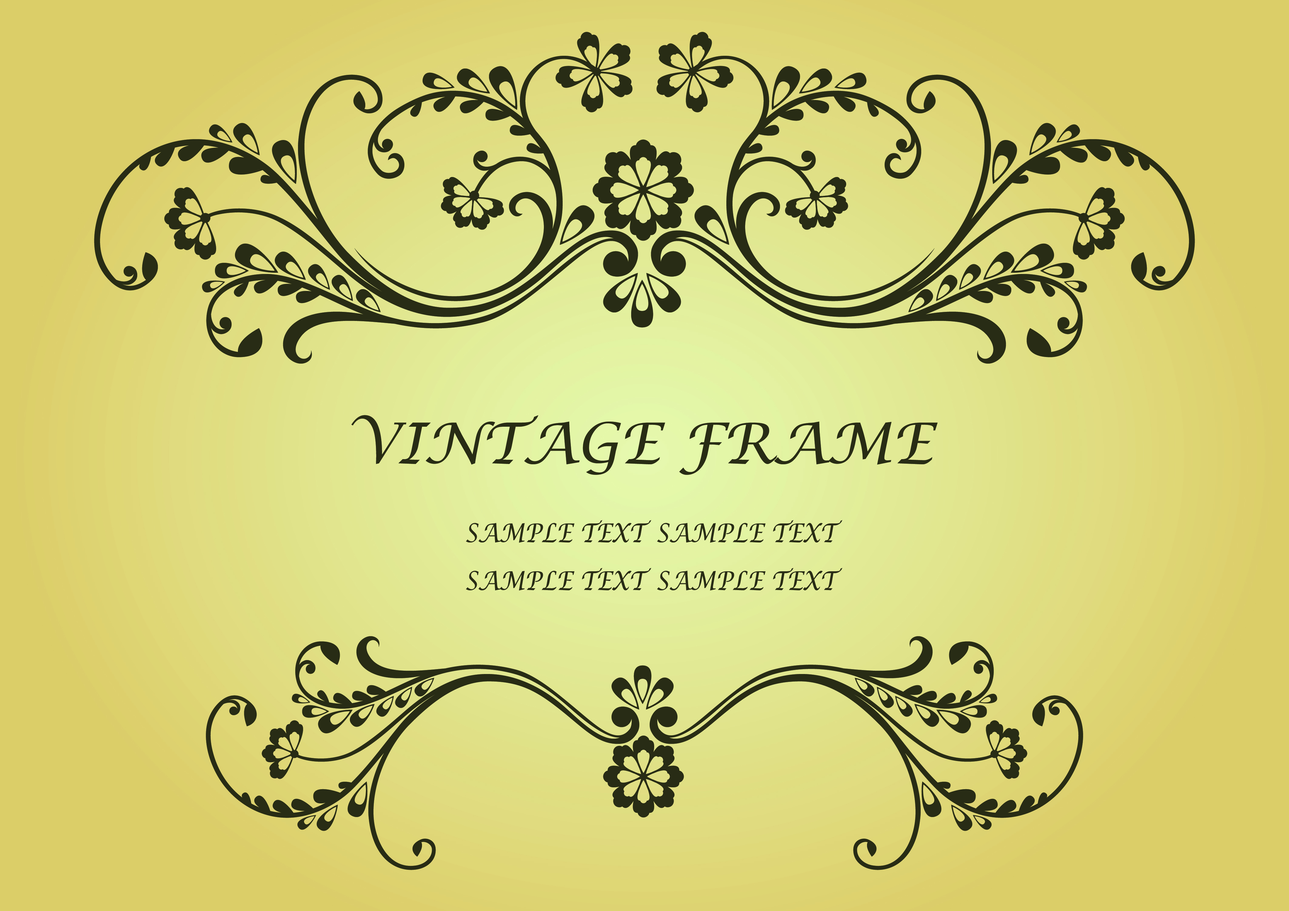 Free Vector Retro Vintage Backgrounds