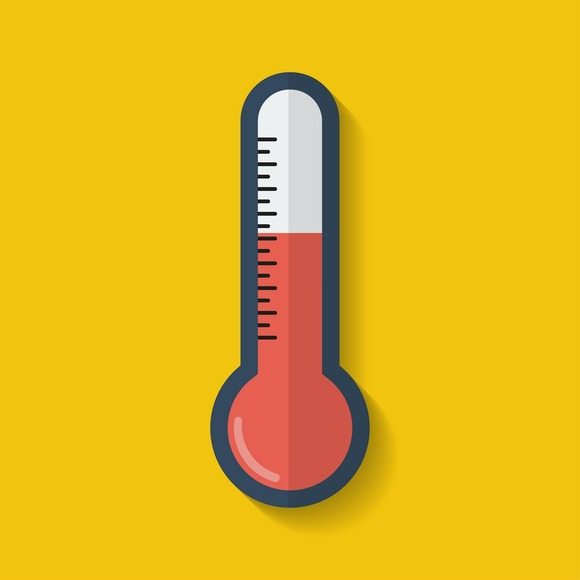 Fundraising Thermometer Icon