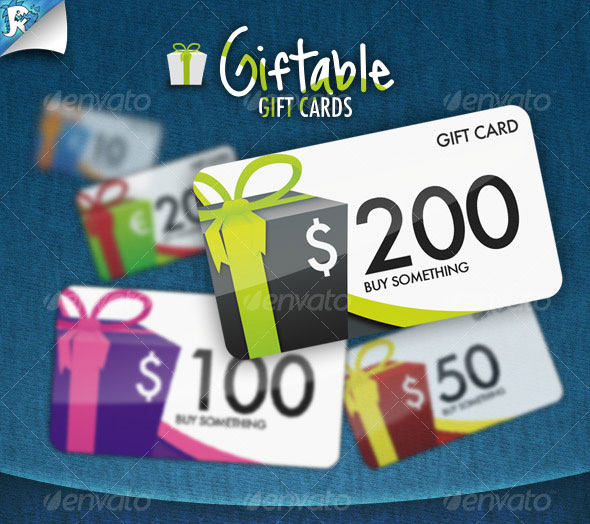 7 psd business card gift images free business card psd template gift card psd templates yelopaper Images