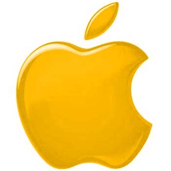 17 Gold Apple Icon Images