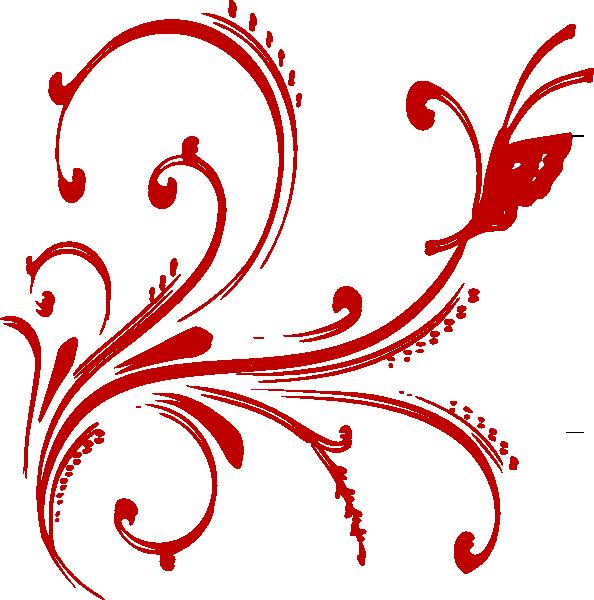19 Red Design Clip Art Images