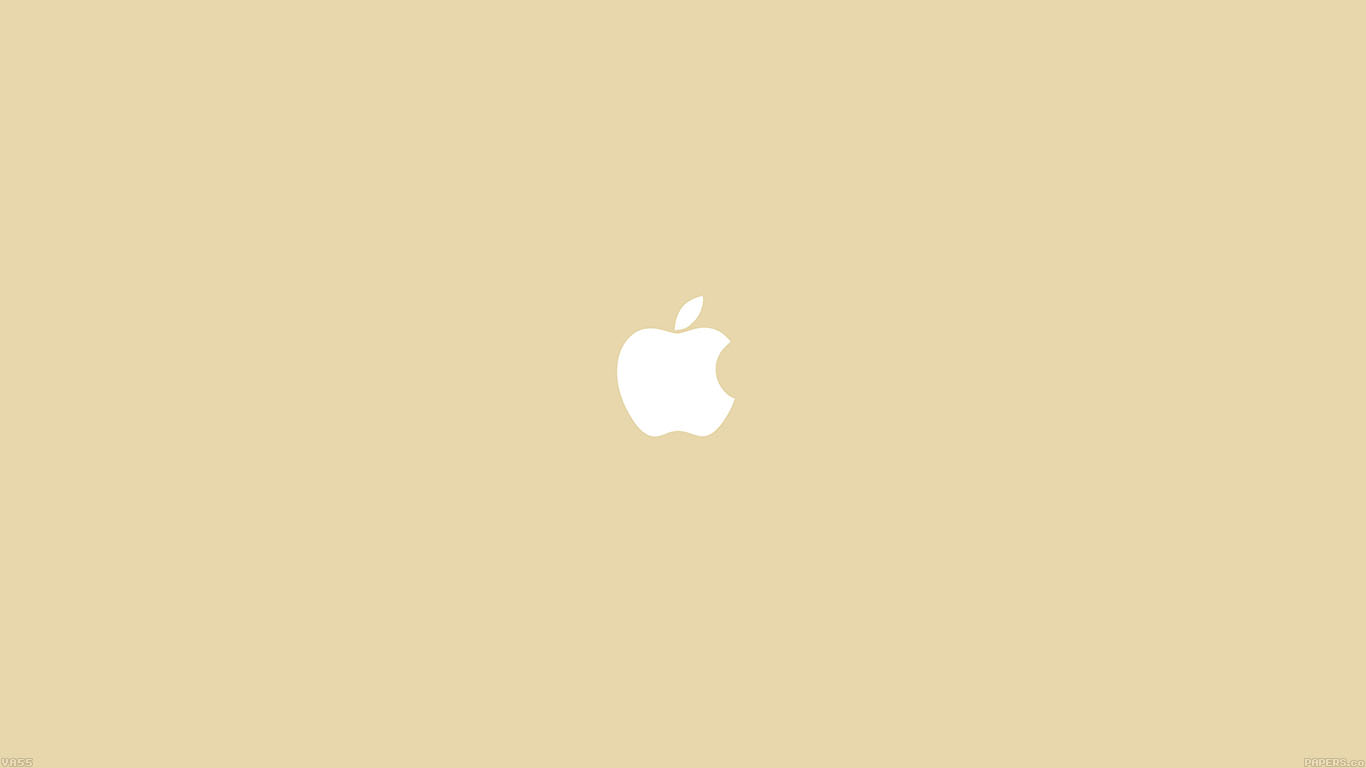 Gold iPhone Apple Logo