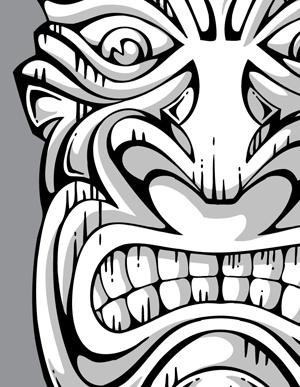 13 Polynesian Vector Art Images