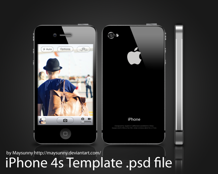 12 IPhone 4S PSD Template Images