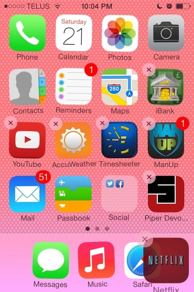 iPhone 5 App Icons