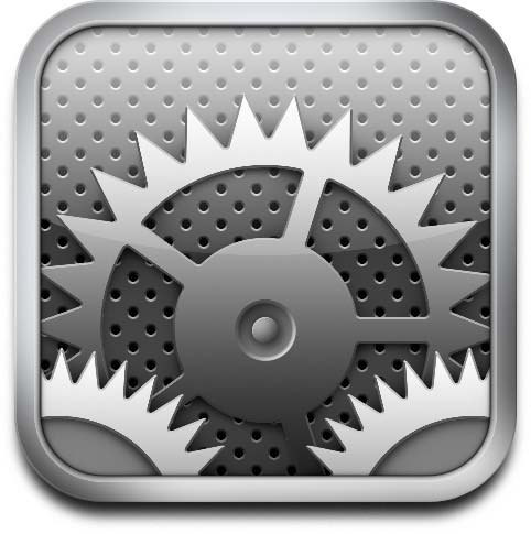 15 Settings App Icon Black Images