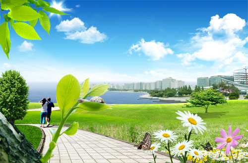 Landscape PSD Files